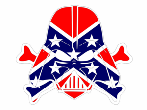 Rebel Flag Dark Vader Cut Image