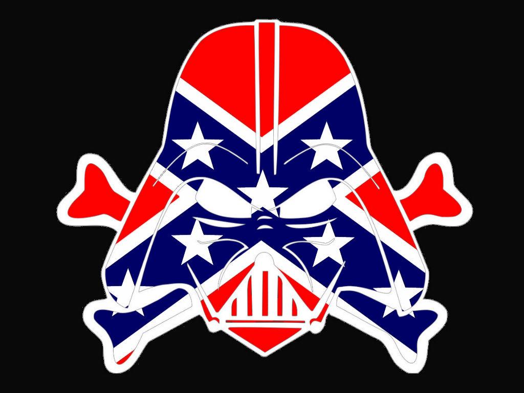 Rebel Flag Dark Vader Cut Free Images At Clker Com