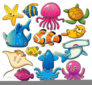 animated clipart of ocean life free images at clker com vector rh clker com ocean life clipart black and white printable marine life clipart