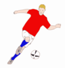 Fussball Player Clip Art