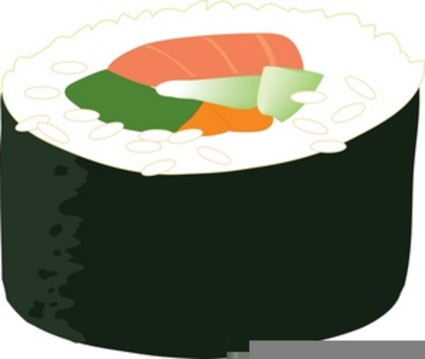 free clipart sushi rolls free images at clker com vector clip rh clker com sushi clipart kawaii sushi clipart kawaii