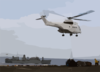 Sa-332 Super Puma Helicopters From Military Sealift Command Combat Stores Ship Usns Spica (t-afs 9) Delivers Pallets Of Supplies To Uss Kearsarge (lhd 3) Clip Art
