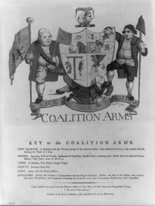 Coalition Arms  / Jn: 1784. Image