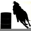 Free Clipart Horse Silhouette Image