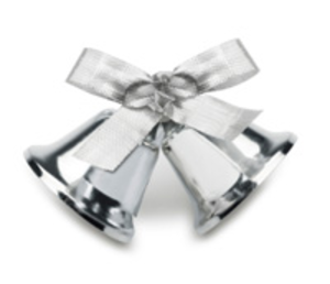 Silver Wedding Bells Image