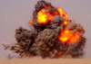 Eod Teams Detonate Expired Ordnance In The Kuwaiti Desert. Image