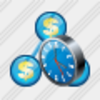 Icon Country Business Clock Image