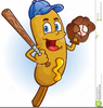 Funny Hot Dog Clipart Image