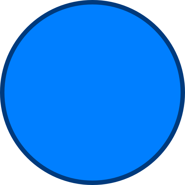 blue circle clip art - photo #16