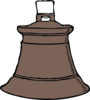 Rust Bell Old Clip Art
