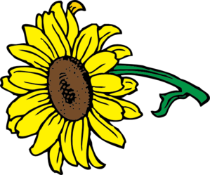 Sunflower Clip Art at Clker.com - vector clip art online ...