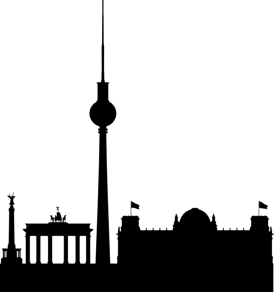 berlin skyline black simple clip art at clker com vector clip art rh clker com skyline clipart new york skyline clipart new york