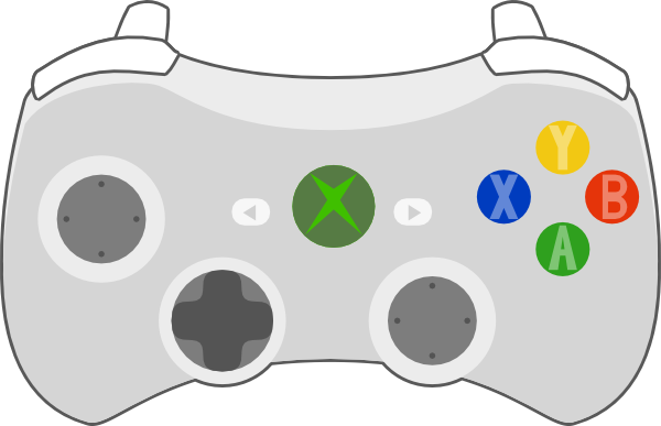 Xna Line Drawing : Xbox controller clip art free engine image for