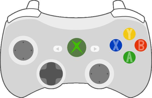 Line Drawing Xbox Controller : Xbox controller clip art at clker vector