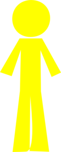 Personyellow Clip Art