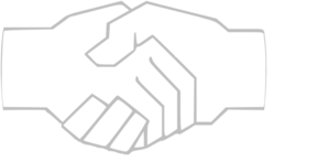 Simple Handshake Gray Clip Art