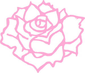 Pink Full Bloom Clip Art