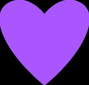 Heart Purple Clip Art at Clker.com - vector clip art ...