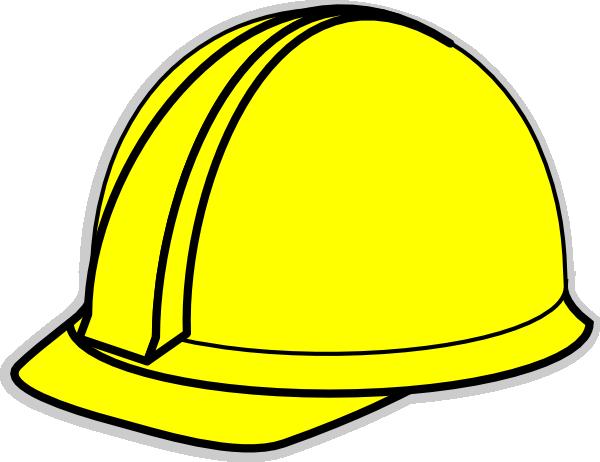 yellow hard hat clipart - photo #2