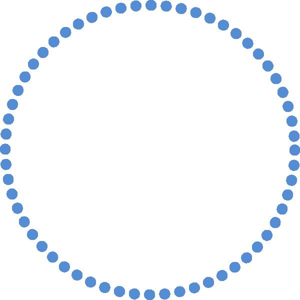 Clipart Ncg Blue Dots on Green Spiral Clip