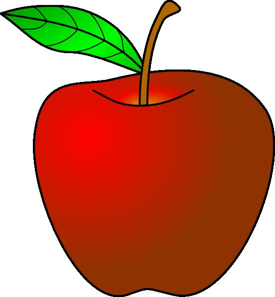 apple clip art at clker com vector clip art online royalty free rh clker com free clipart of an apple clipart of apple basket