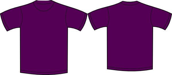 plain tshirt purple clip art at vector clip art online royalty free public domain. Black Bedroom Furniture Sets. Home Design Ideas