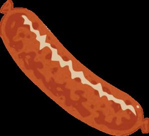 sausage clip art at clker com vector clip art online royalty free rh clker com clipart sausage sandwich sausage sizzle clip art