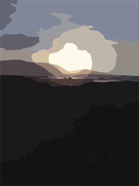 clipart sunset. beach sunset clipart.