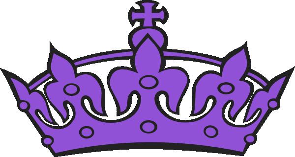 Purple Tiara Clip Art at Clker.com - vector clip art ...