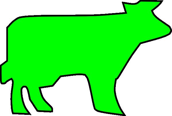Farm Animal Outline Clip Art at Clker.com - vector clip art online ...