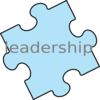 Puzzle Piece - Leadership Clip Art
