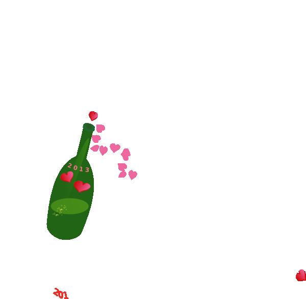 Champagne Toast Clip Art at Clker.com - vector clip art ...