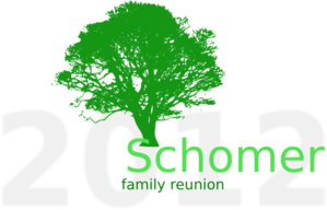 Tree, Family Reunion, Schomer Clip Art