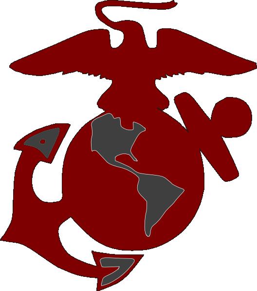 marines logo2 clip art at clker com vector clip art online rh clker com marine corp symbols clip art
