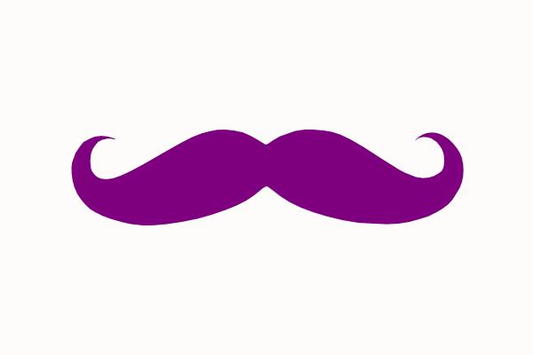 moustache clip art png - photo #49