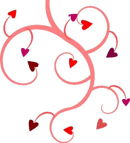 Vine Heart Clip Art at Clker.com - vector clip art online ...