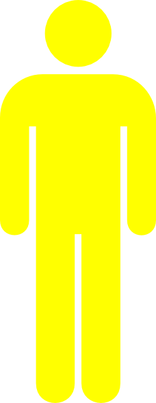 Yellow Man Clip Art at Clker.com - vector clip art online, royalty ...
