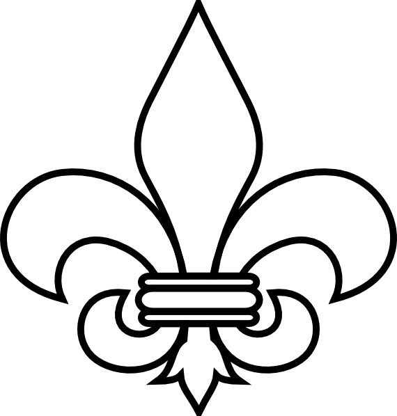 Saints Symbol Drawing Download This Image as