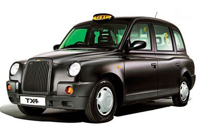 London Black Cab Drawing Click Stars to Rate