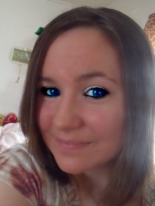 Me With Blue Eyes Image