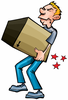 Manual Lifting Clipart Image
