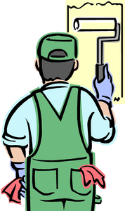Clipart Picture Of A Painter Image