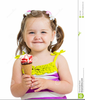 Kids Eating Ice Cream Clipart Image