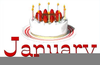 December Birthday Clipart Image