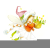 Painting Fairy Clipart Image