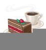Coffee And Cake Clipart Image