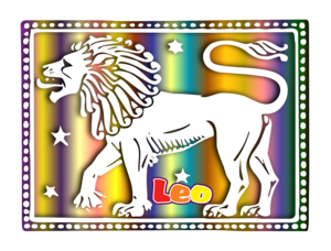 Leo Of The Zodiac Image
