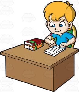 free clipart of child doing homework free images at clker com rh clker com