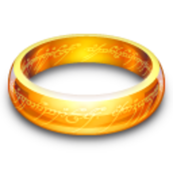 The One Ring Free Images At Clker Com Vector Clip Art