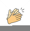 Free Clipart Hands Clapping Image